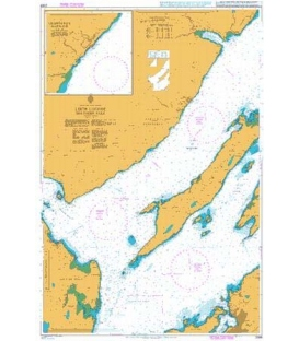 British Admiralty Nautical Chart 2389 Loch Linnhe Southern Part