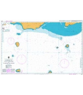 British Admiralty Nautical Chart 2441 Jazireh-ye Tonb-e Bozorg to Jazireh-ye Forur