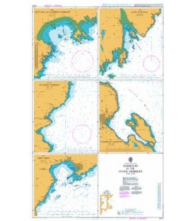 British Admiralty Nautical Chart 2474 Harbours and Passages in the Inner Hebrides