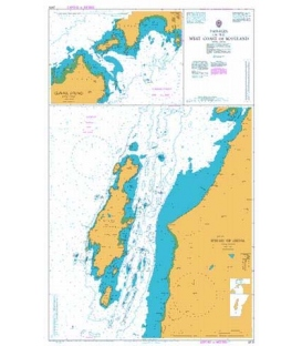 British Admiralty Nautical Chart 2475 Sound of Gigha
