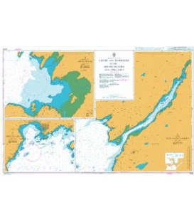 British Admiralty Nautical Chart 2476 Lochs and Harbours in the Sound of Jura and Approaches