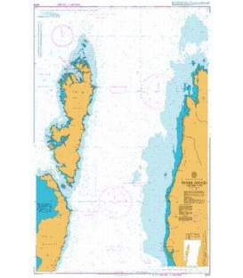 British Admiralty Nautical Chart 2479 Inner Sound Northern Part