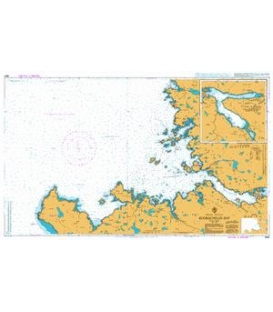 British Admiralty Nautical Chart 2502 Eddrachillis Bay