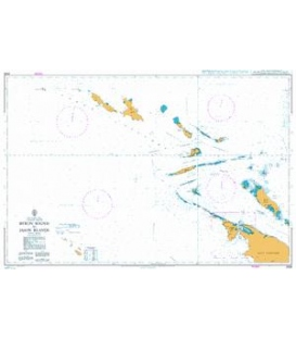 British Admiralty Nautical Chart 2526 Byron Sound to Jason Islands