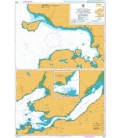 British Admiralty Nautical Chart 2528 Loch Gairloch, Loch Kishorn and Loch Carron