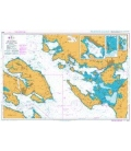 British Admiralty Nautical Chart 2532 Lillebaelt - Southern Part