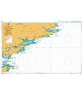 British Admiralty Nautical Chart 2536 Port William to Choiseul Sound