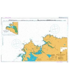 British Admiralty Nautical Chart 2703 Broad Haven Bay and Approaches