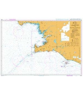 British Admiralty Nautical Chart 2733 Dyrholaey to Snaefellsjokull