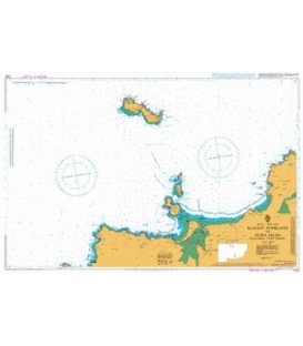 British Admiralty Nautical Chart 2752 Bloody Foreland to Horn Head including Tory Island