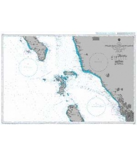 British Admiralty Nautical Chart 2779 Pulau Ilir to Pulau Nyamuk