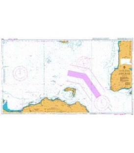 British Admiralty Nautical Chart 2798 Lough Foyle to Sanda Island including Rathlin Island