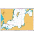 British Admiralty Nautical Chart 2816 Baltic Sea - Southern Sheet