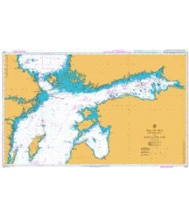British Admiralty Nautical Chart 2817 Baltic Sea - Northern Sheet and Gulf of Finland