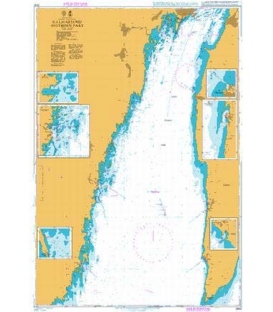British Admiralty Nautical Chart 2842 Kalmarsund - Southern Part