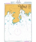 British Admiralty Nautical Chart 2855 Karlshamn and Stilleryd