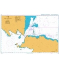 British Admiralty Nautical Chart 2862 Outer Approaches to Selat Sunda