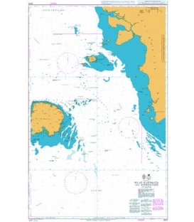 British Admiralty Nautical Chart 2872 Selat Karimata and Approaches
