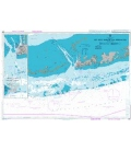 British Admiralty Nautical Chart 2881 Key West Harbor and Approaches