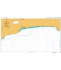British Admiralty Nautical Chart 2895 Outer Approaches to Port Salalah (Mina Raysut)