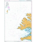 British Admiralty Nautical Chart 2898 Vestfirdir