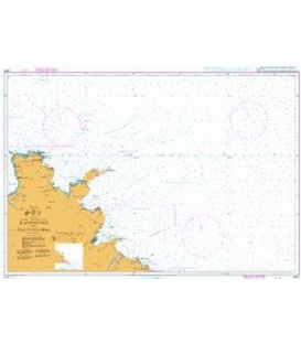 British Admiralty Nautical Chart 2900 Raudinupur to Glettinganes