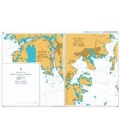 British Admiralty Nautical Chart 2987 Ports on the South Coast of Norway