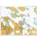 British Admiralty Nautical Chart 3002 Stavanger