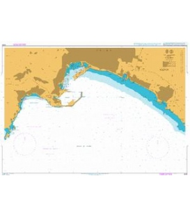 British Admiralty Nautical Chart 3035 Palma