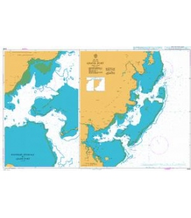 British Admiralty Nautical Chart 3048 Grand Port