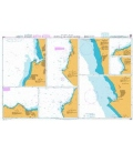 British Admiralty Nautical Chart 3089 Ports on the Coast of Peru