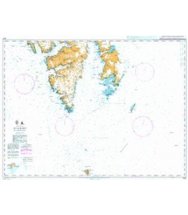 British Admiralty Nautical Chart 3137 Svalbard - Southern Part