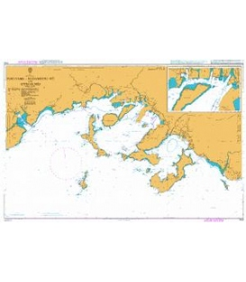 British Admiralty Nautical Chart 3153 Tokuyama - Kudamatsu Ko and Approaches