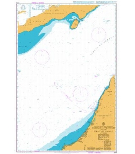 British Admiralty Nautical Chart 3174 Western Approaches to the Strait of Hormuz