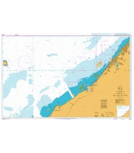 British Admiralty Nautical Chart 3176 `Ajman to Sir Abu Nu`ayr