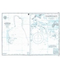 British Admiralty Nautical Chart 3255 Entebbe Bay