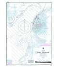 British Admiralty Nautical Chart 3256 Port Florence (Kisumu)