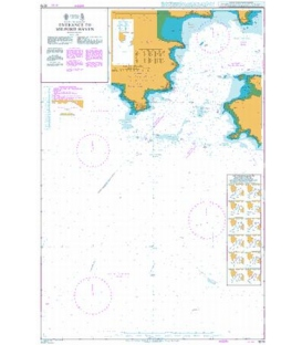 British Admiralty Nautical Chart 3273 Entrance to Milford Haven