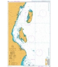 British Admiralty Nautical Chart 3310 Mafia Island to Pemba Island