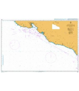 British Admiralty Nautical Chart 3311 Approaches to Novorossiysk