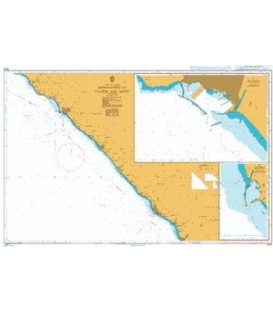 British Admiralty Nautical Chart 3312 Approaches to Tuapse and Sochi