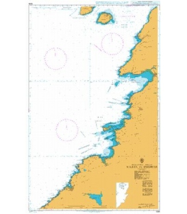British Admiralty Nautical Chart 3338 Kilkee to Inisheer