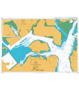 British Admiralty Nautical Chart 3390 Kwangyang Hang