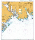 British Admiralty Nautical Chart 3502 Svenner to Jomfruland including Porsgrunn