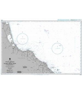 British Admiralty Nautical Chart 3542 Pulau Redang to Hlaem Talum Phuk