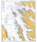 British Admiralty Nautical Chart 3556 Kollsnes to Mongstad Including Sture Terminal