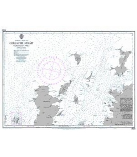 British Admiralty Nautical Chart 3560 Gerlache Strait Northern Part
