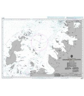 British Admiralty Nautical Chart 3573 Grandidier Channel