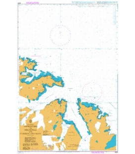 British Admiralty Nautical Chart 3588 South Georgia, Approaches to Stromness & Cumberland Bays