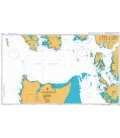 British Admiralty Nautical Chart 3754 Dixon Entrance